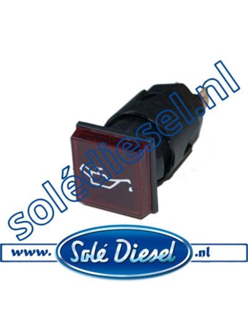 60900050A   Solédiesel onderdeel   Lamp oliedruk