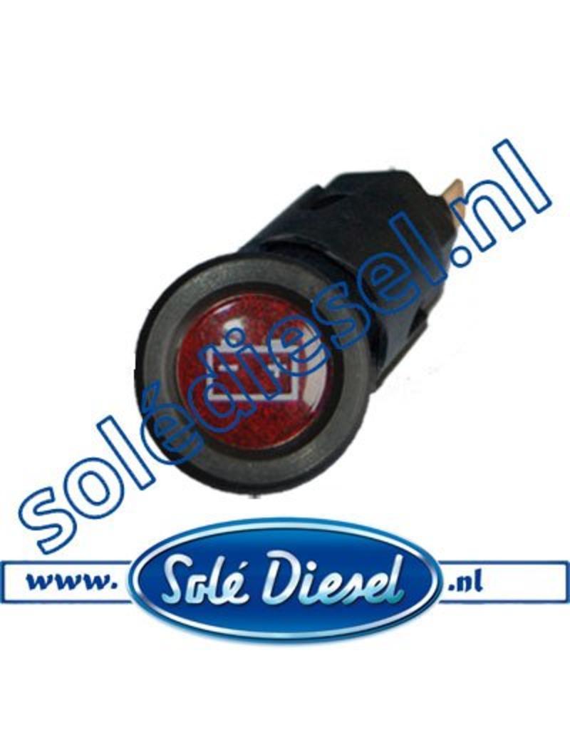 60900051 | Solédiesel onderdeel | Controlelamp voor accu