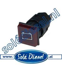 60900051A | Solédiesel onderdeel | Controlelamp voor accu