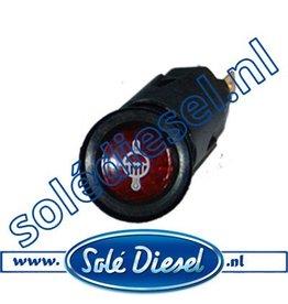 60900052 | Solédiesel onderdeel | Lamp koelwatertemperatuur