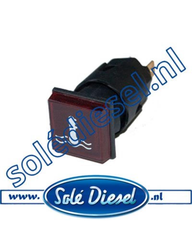 60900052A | Solédiesel onderdeel | Lamp koelwatertemperatuur