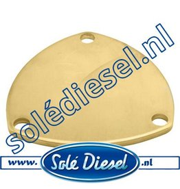 37611002 End Cover for Solé  Raw water pump