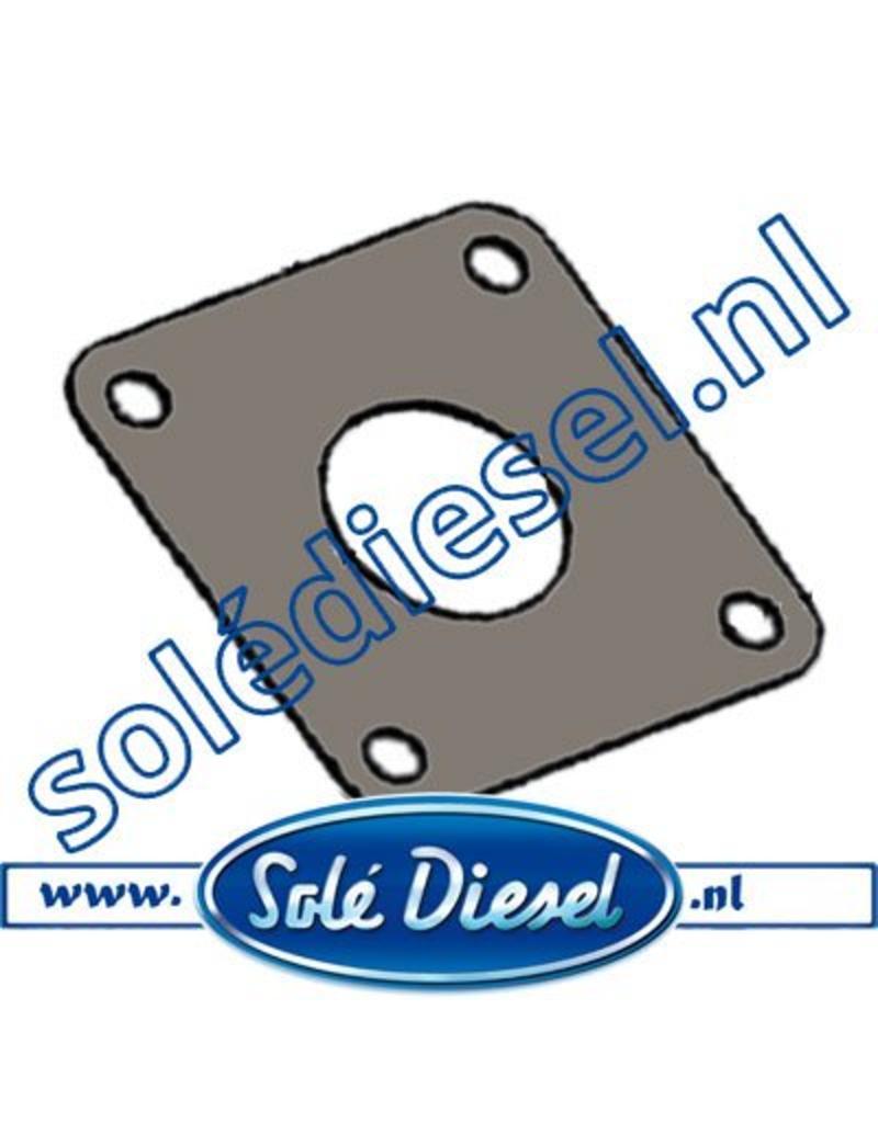 16513002 Solé uitlaat pakking