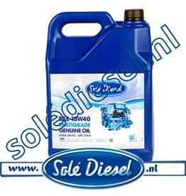 A0105000  | Solédiesel |Teilenummer |  Solé Motoröl