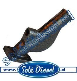 13111023  | Solédiesel onderdeel |  Solé  Exhaust Elbow