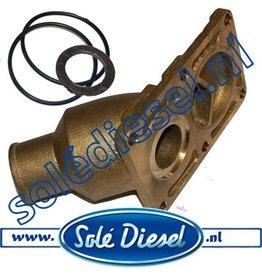 13813015CR   Solédiesel onderdeel    Solé  Exhaust Elbow