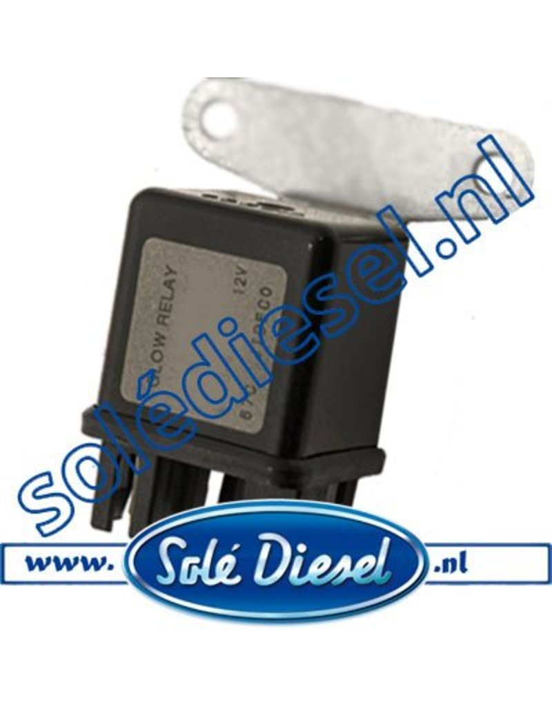 13827005  | Solédiesel | parts number | Glow relay