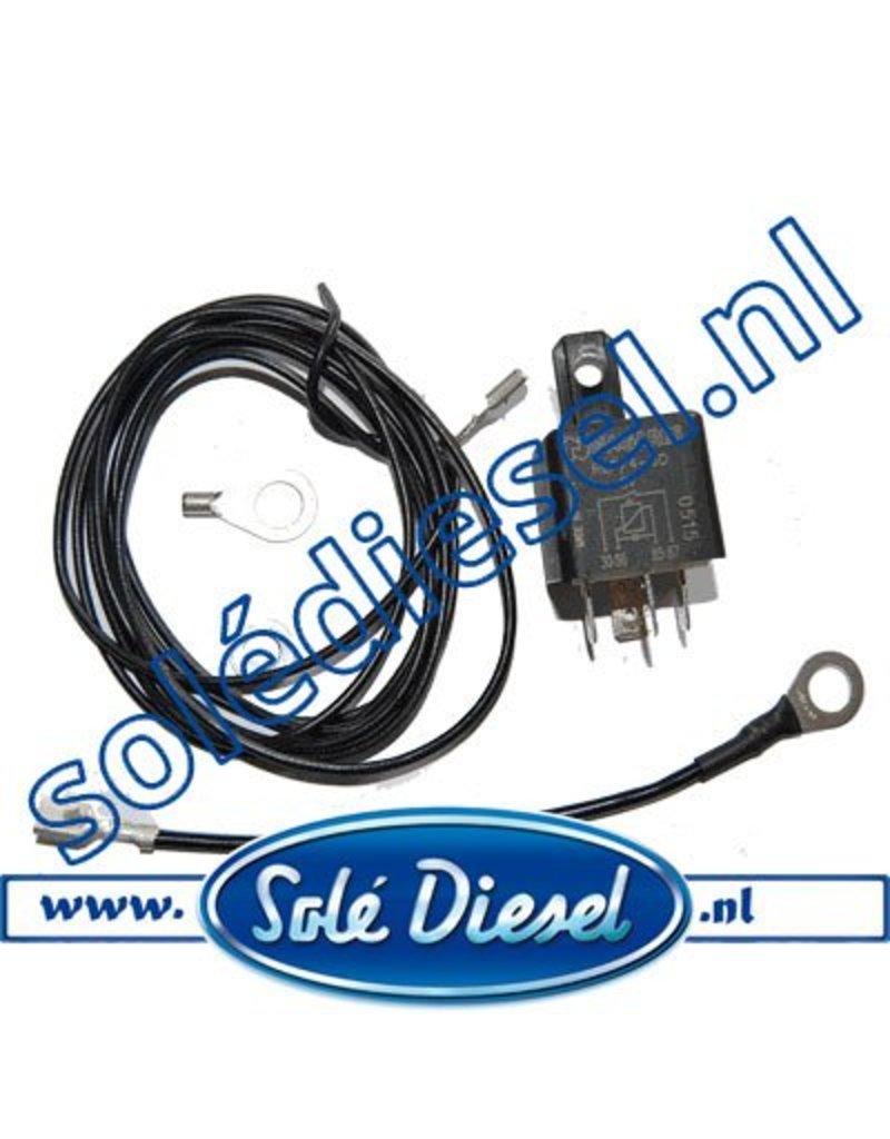 60900301.K3 | Solédiesel onderdeel | Relais en kabel