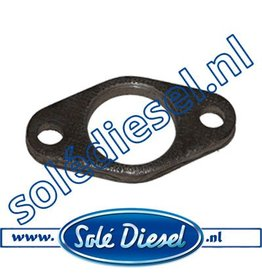 12111034 | Solédiesel |Teilenummer | Plate, Exhaust Manifold