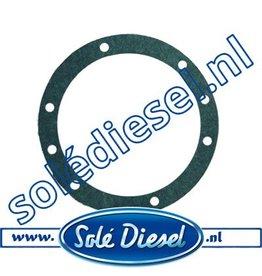12120023 | Solédiesel onderdeel | Gasket Bearing Cap 0.1mm