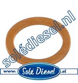 12126006   Solédiesel onderdeel   Gasket injector cap