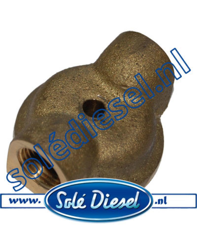 13511003| Solédiesel onderdeel | Deksel achterkant waterkoeler
