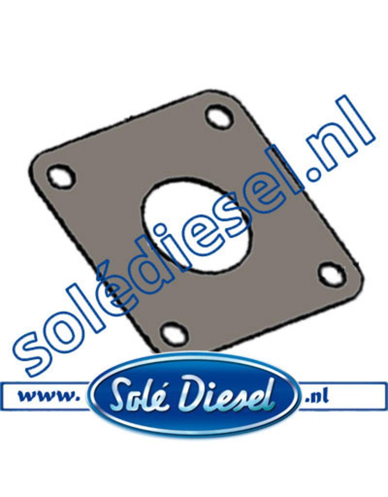 17113016  Solé uitlaat pakking -