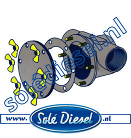 Pinwing | Solédiesel | parts number | Wing nuts & studs