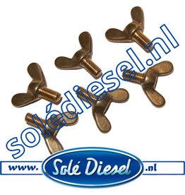 V54102104 | Solédiesel | parts number | Wing screw 6x