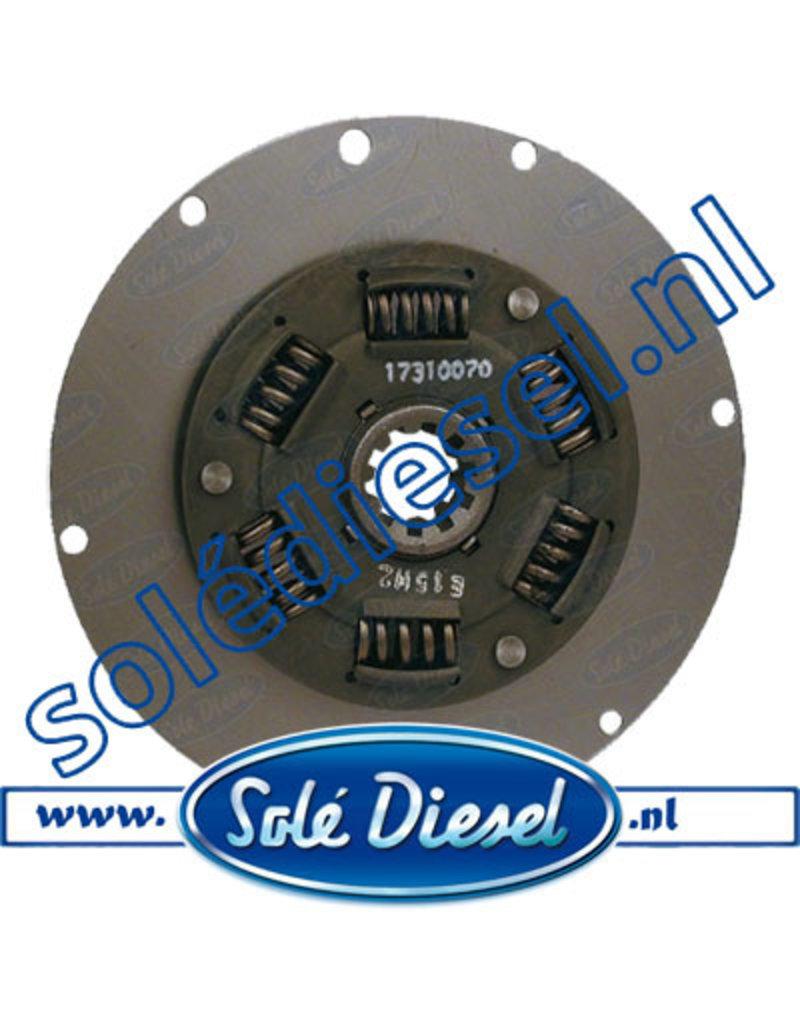 17310070 | Solédiesel | parts number | Damper Plate