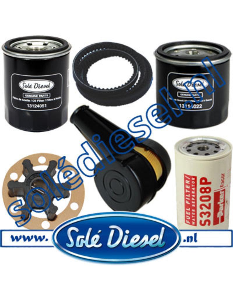 Vollständige service satz mit Racor S3208P filter