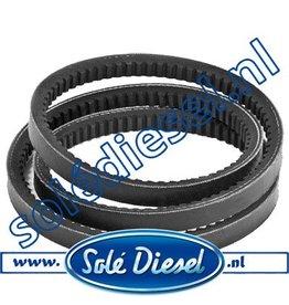 19017025   Solédiesel   parts number   V-belt