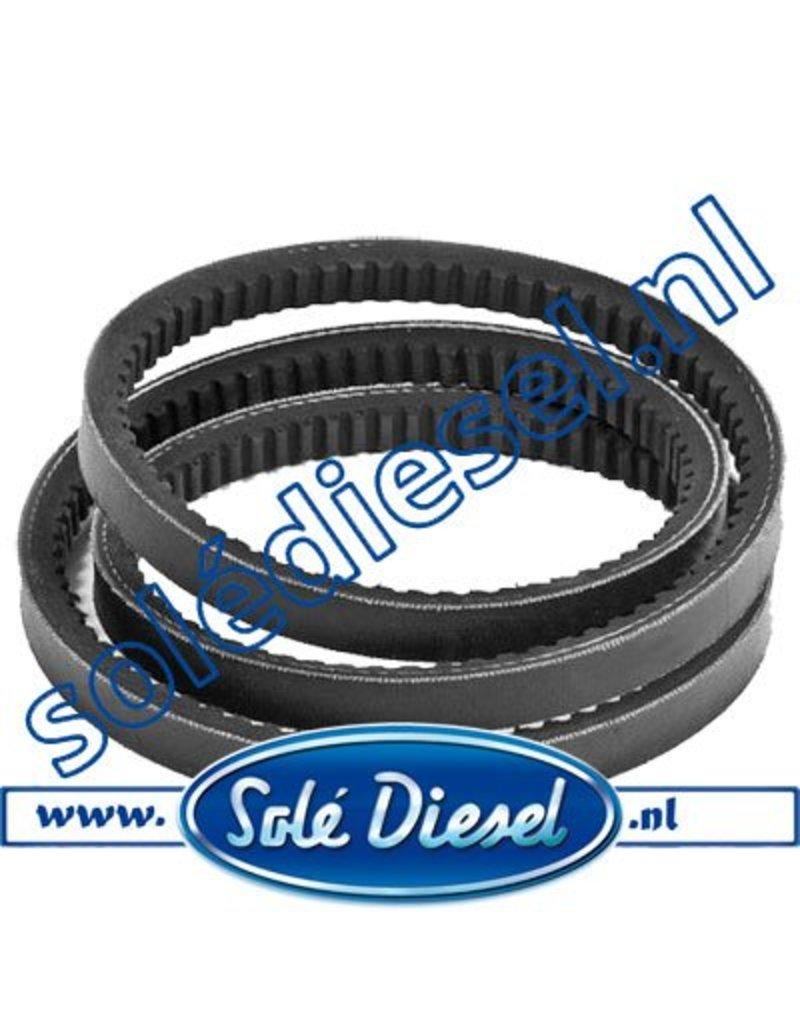 19017025 | Solédiesel | parts number | V-belt