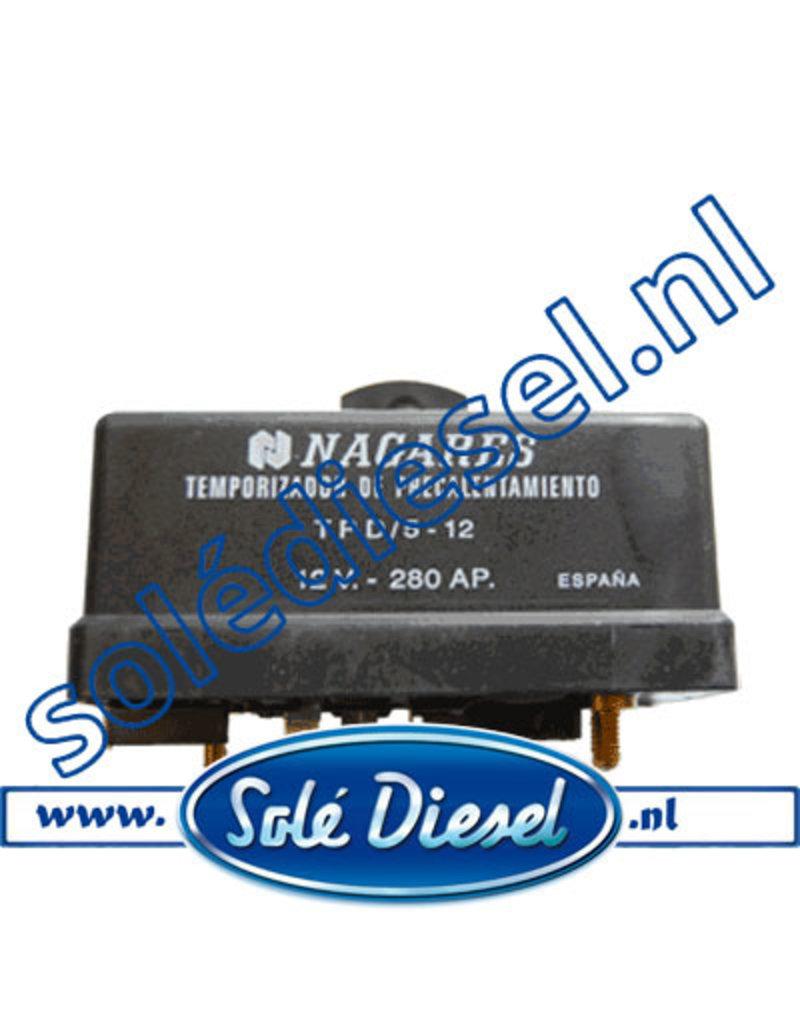 18017001| Solédiesel onderdeel | Relais