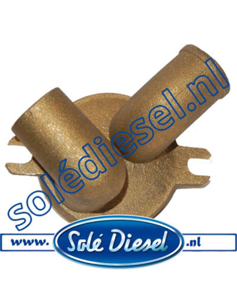 18011003 | Solédiesel onderdeel | Deksel waterkoeler