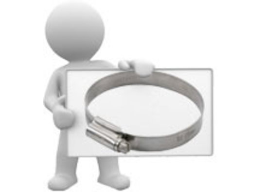 HC hose clamp stainless handle