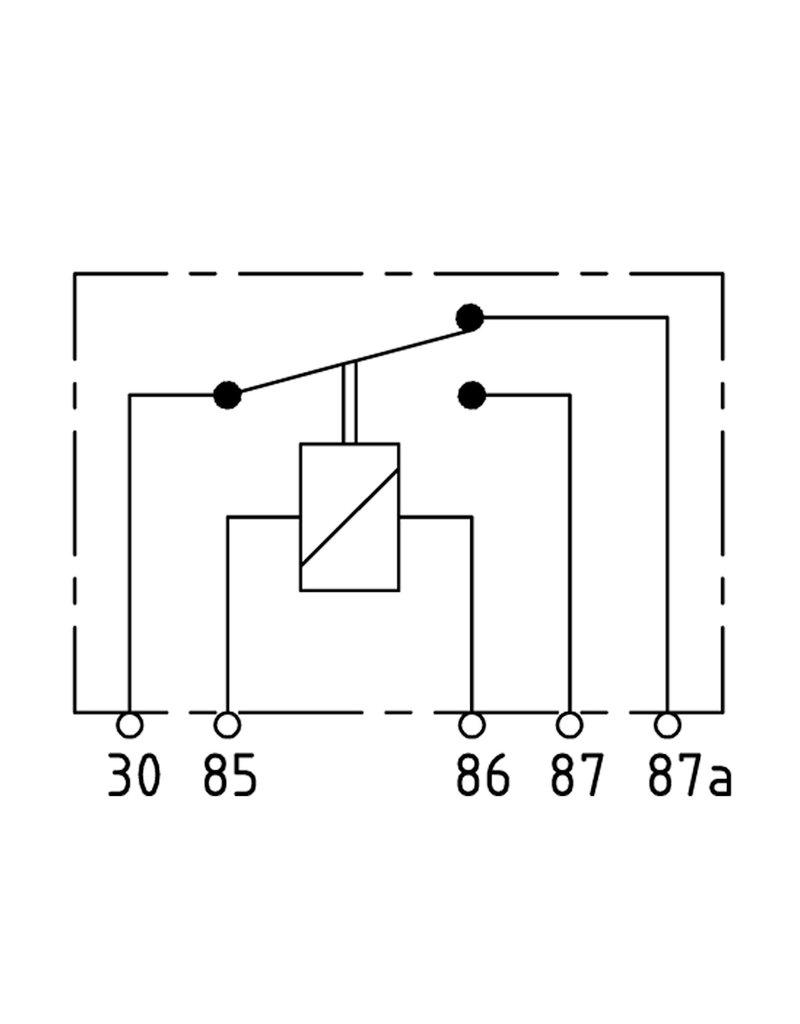 75613151| onderdeel | Relais 12V 30/20A