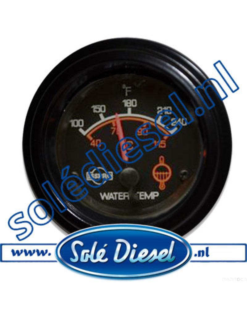 R9050 | Teilenummer | Wassertemperaturanzeiger Ø 52mm