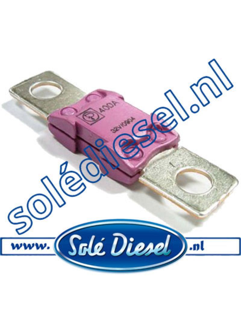 MEGA400   Teilenummer    Sicherung 400A
