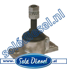 61631100| Solédiesel | parts number |  Anti Vibration Mount Type A