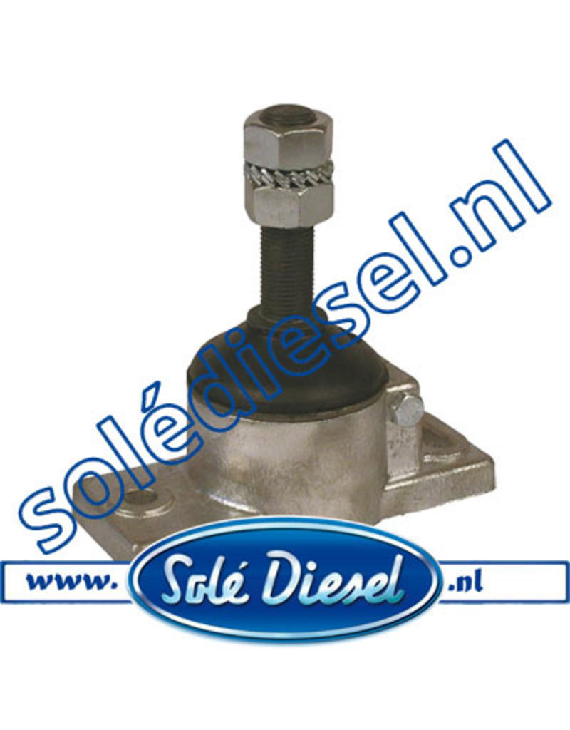 61631100 | Solédiesel | parts number |  Flexible Anti Vibration Mount 55° Shore
