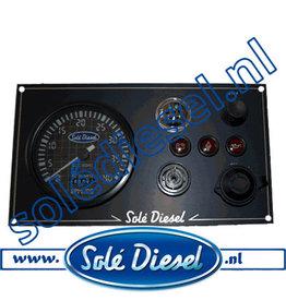 60934000| Solédiesel onderdeel | Instrumentenpaneel  Mini 34 -old
