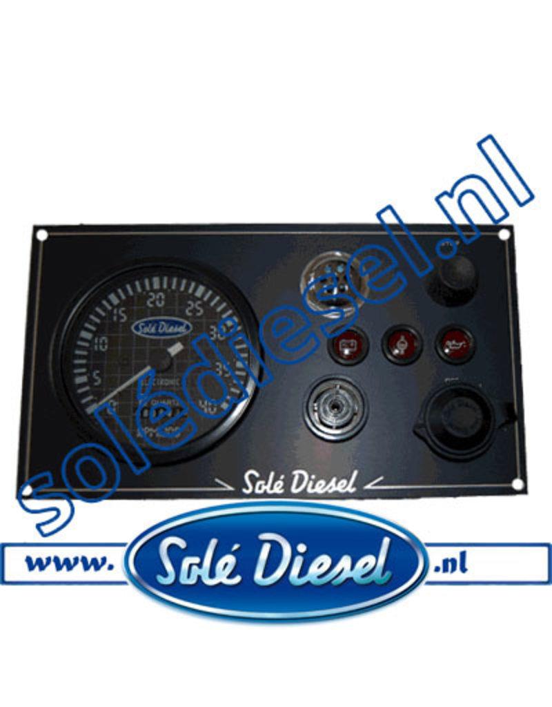 60934000   Solédiesel  Teilenummer  Instrumententafel Mini 34-old