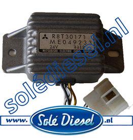 ME049233 |Teilenummer | Mitsubishi Sicherheit Relay Lichtmaschine 24V