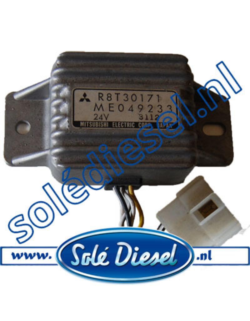 ME049233 |  parts number | Mitsubishi Safety Relay 24V