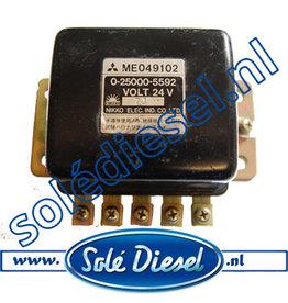 ME049102|  parts number | Mitsubishi  Relay Starter 24V