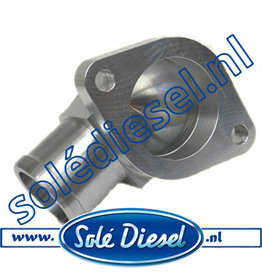 17211020 | Solédiesel onderdeel | Fitting Water Outlet