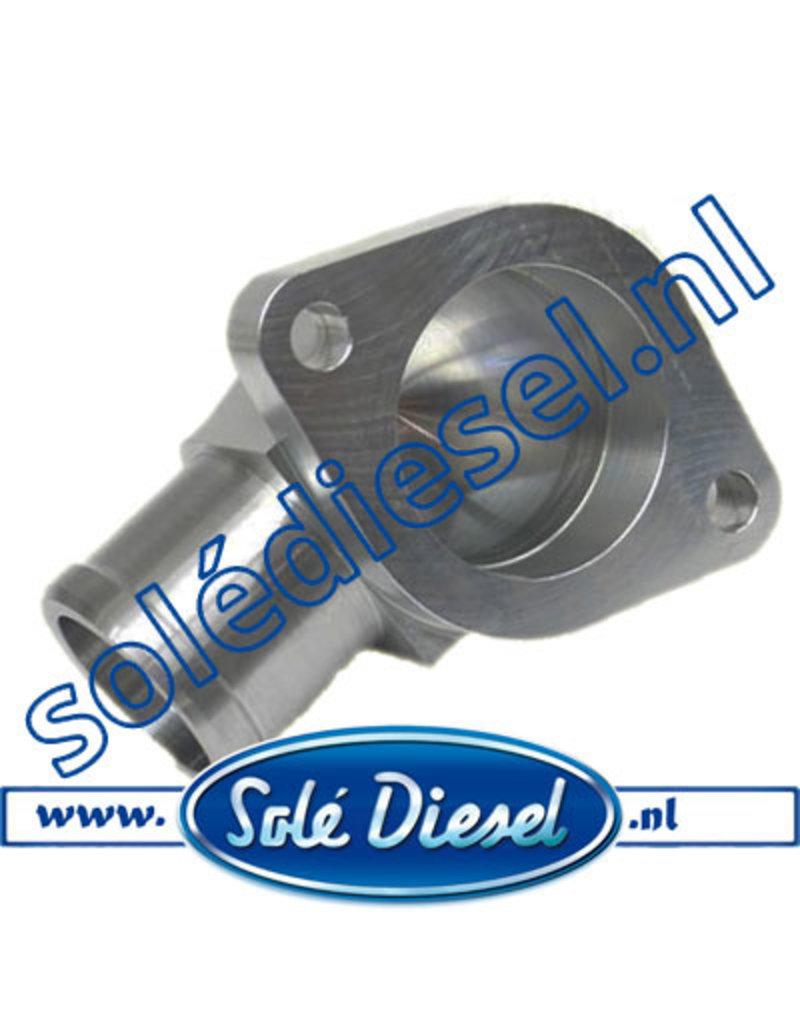 17211020 | Solédiesel onderdeel | Fitting Water Outlet