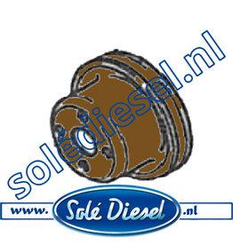 13221021 | Solédiesel onderdeel | Pulley  Water Pomp