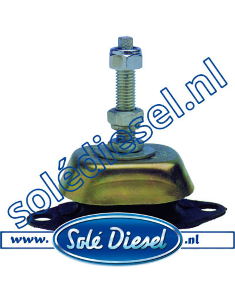 063045/S | Solédiesel onderdeel | Motorsteun 45° shore M12