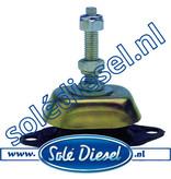 063055/S | Solédiesel onderdeel | Motorsteun 55° shore M12