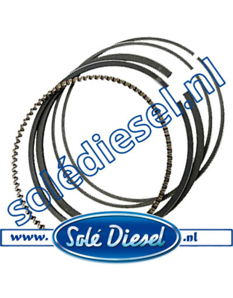 17022006 | Solédiesel onderdeel | Piston Ring Set Std