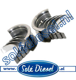 17020003| Solédiesel |Teilenummer | Bearing Kit Crankshaft Std