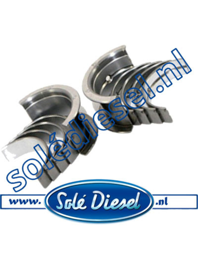 17020003| Solédiesel |Teilenummer | Bearing Kit Crankshaft Std