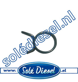 3- 5,5 mm |  parts number |  Hose clamp