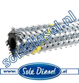 Ø4mm| Teilenummer | Gummi Kraftstoffschlauch mit Stahlgeflecht