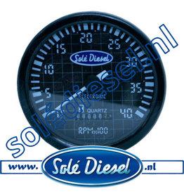 60934710   Solédiesel  Teilenummer   Tachometer
