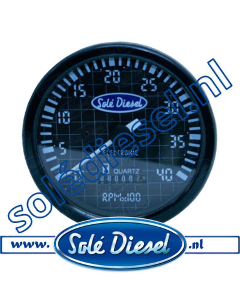 60934710| Solédiesel onderdeel | Tachometer