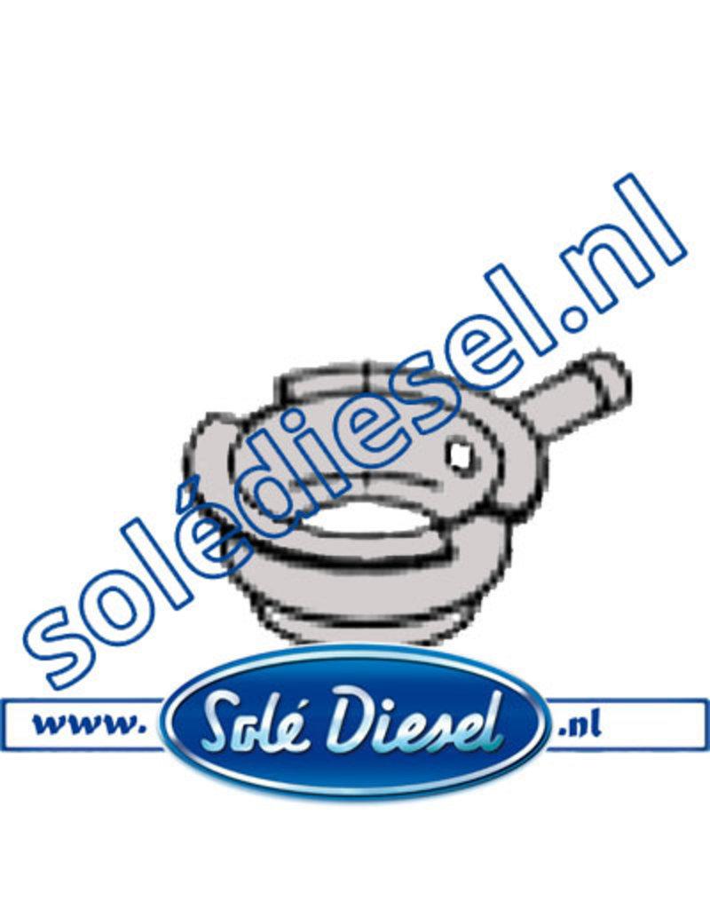 15111002 | Solédiesel onderdeel | koelerdop mond