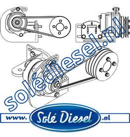 17417097|  Solédiesel | parts number | Kit 2nd Alternator Mini 74